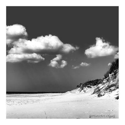 """#0066 """"Clouds II, (Skallingen, DK, 2016) Ltd of 10"""
