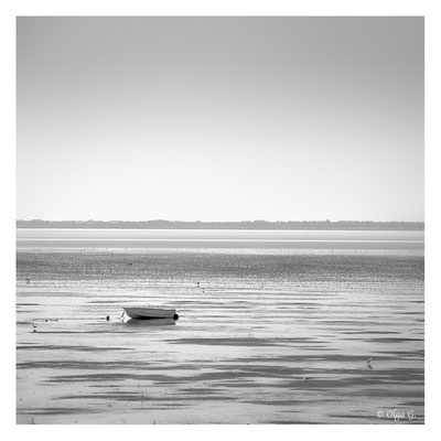 "#0007  ""Low Tide I"" (Boat)  ( National Park Vadehavet, St.Darum,Ribe, 2018)  Ltd of 10"