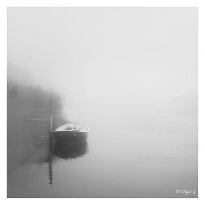 """#0045 """"Fog-the presence- Boat""""  (Ride, Kammerslusen, Denmark 2019) Ltd of 10"""