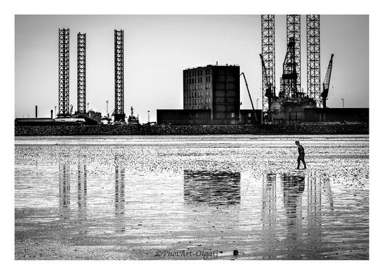 """#0010  """" Industrial seaside"""" (Esbjerg,DK,2016) Ltd of 15"""