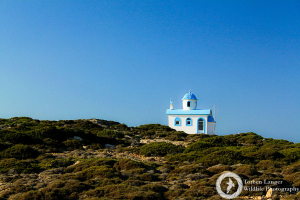 A little chapel on Antikythira