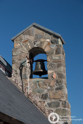 The bell of the Church of the Good Shepherd in Tekapo