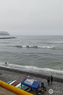 Playa Makaha in Lima