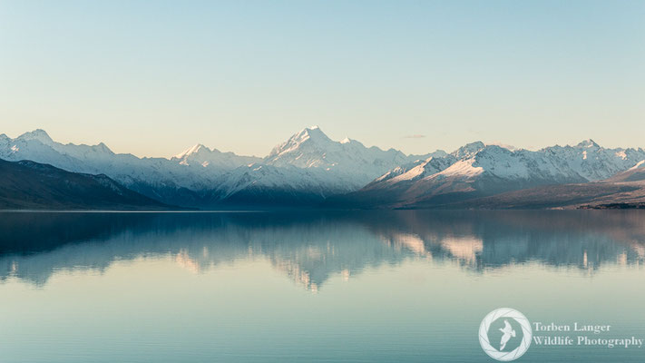 Lake Pukaki and Mt. Cook/Aoraki
