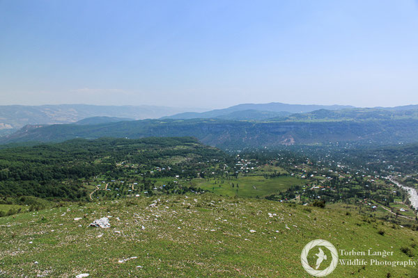 Landscape impressions around Arslanbob