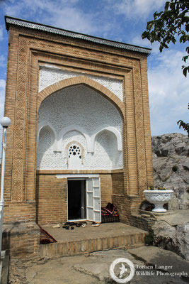 Temple in Osh