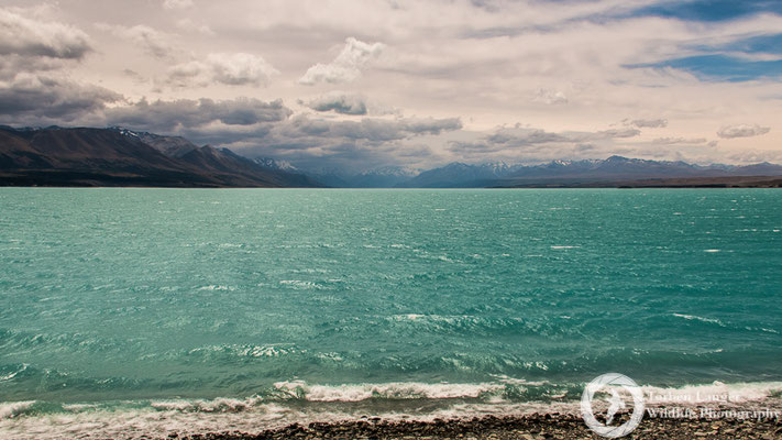 A Storm bubbling up over Lake Pukaki