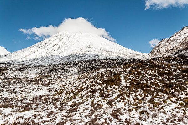Hiking at Tongariro National Park