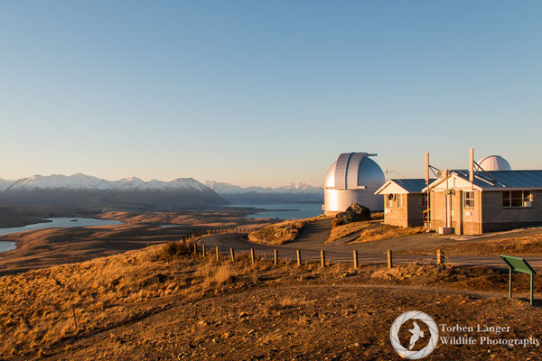 Mt. John Observatory close to Lake Tekapo