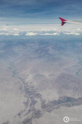 The Peruvian Andes are quite impressive...