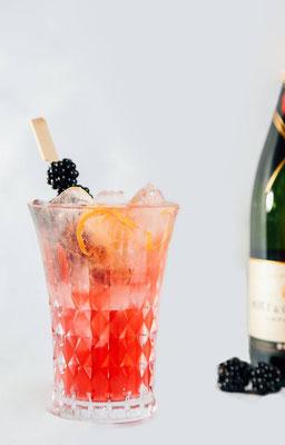 fruchtiger Champagner