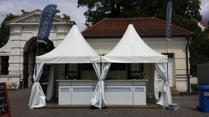 Köpenicker Winzersommer mit Goldstaub Barcatering Potsdam.