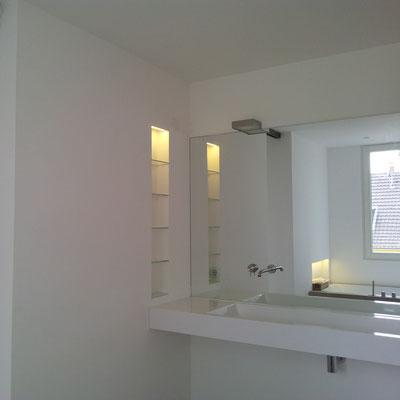 Lichtdesign Badezimmer, Wohnhaus Köln