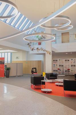 Neues Lichtkonzept für die KSK Vulkaneifel in Daun / Eifel
