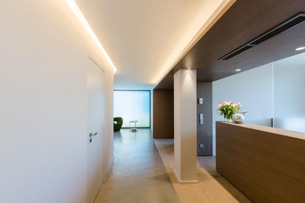 Lichtdesign Lobby Notariat Dr. Michaela S. Tschon, Köln