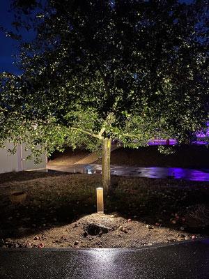 Hofanlage Vorgebirgsblick - Beleuchtung Außenanlage