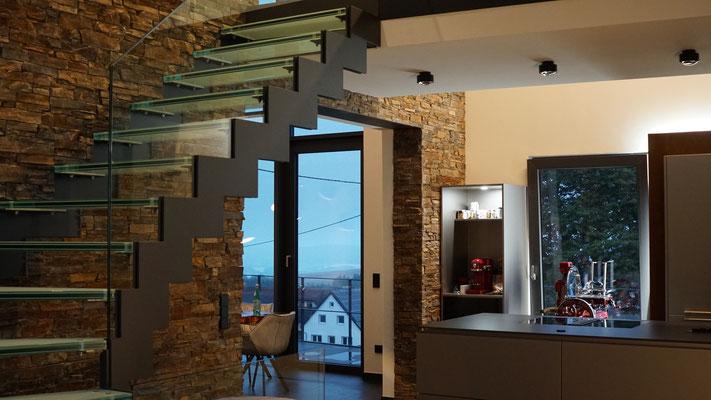 Ambientelicht für die offene Küche