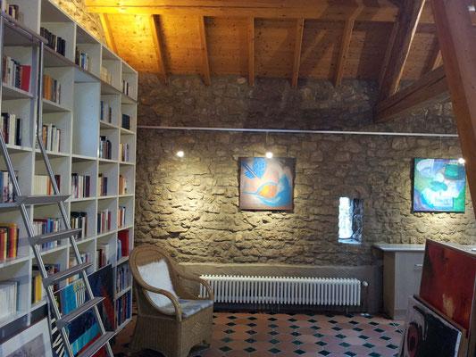Lichtplanung für eine  Galerie in einer umgebauten Scheune, Berndorf / Eifel