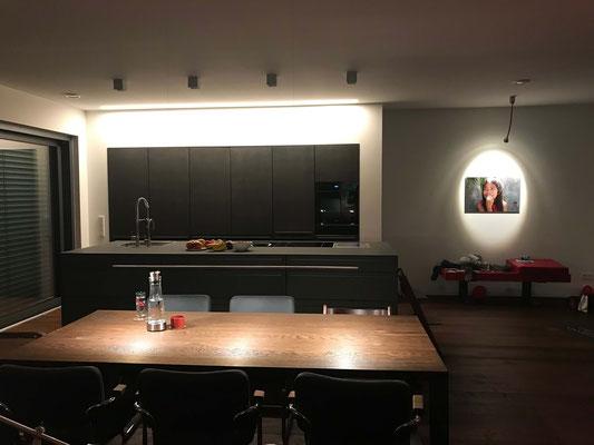 Licht für die Bereiche Eingang, Küche und Essen