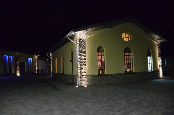Loftlounge Lokschuppen Gerolstein - Außenbeleuchtung