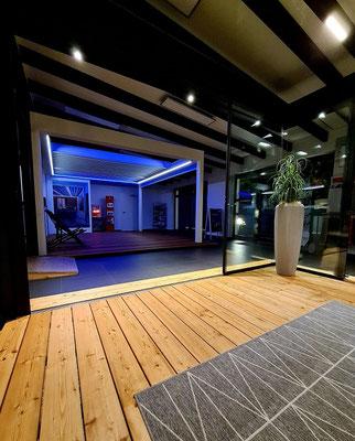 Wipro Lounge Terrassendach brustor