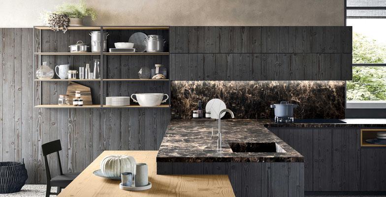 Cucine moderne 2019 tendenze stili e materiali peeter for Stili cucine