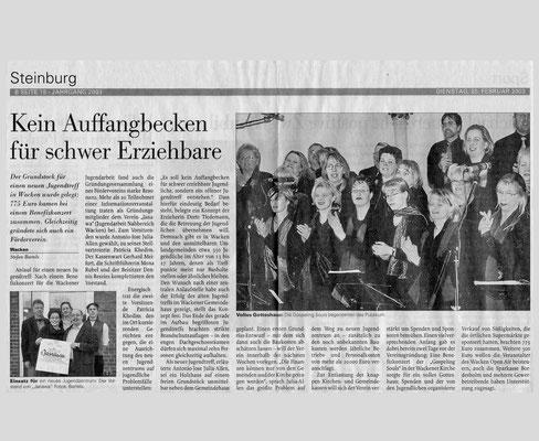 Benefizkonzert Wacken / 25.2.2003