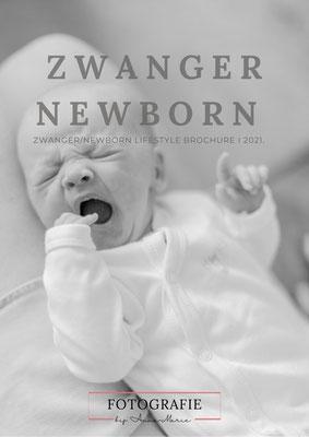 zwangerschapsfotografie en newbornshoot