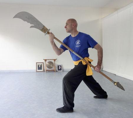 Kung Fu hallebarde