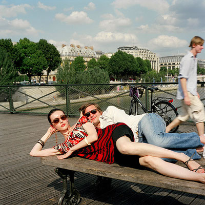 Katarina Radovic, 'A Husband in Paris' - Pierre, Lawyer, Pont des Arts, July 2007