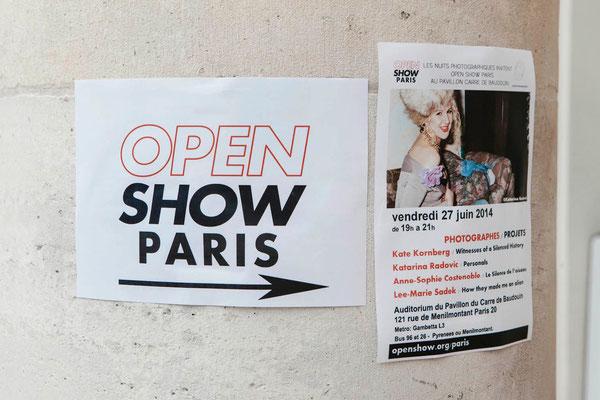 Open Show Paris, Pavillon Carré de Baudouin