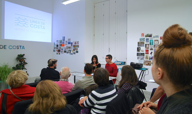 Presentation of work in progress - ECCO Museum of Contemporary Art in Cádiz, Spain, 2015
