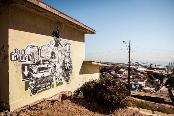 Valparaiso / Projet superpose - Jeronimo