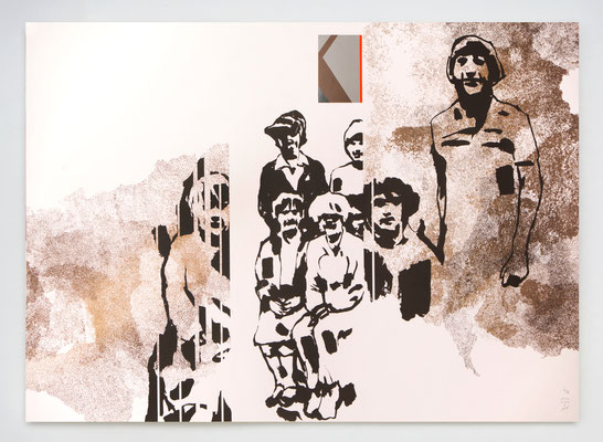 Eden 03 / sérigraphie 70x50cm