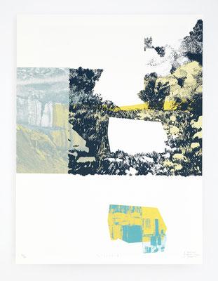 """""""Viçosa V"""" /  Sérigraphie 30x40cm / 4 couleurs / papier 300gr."""