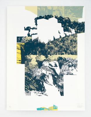 """""""Viçosa II"""" /  Sérigraphie 30x40cm / 4 couleurs / papier 300gr."""