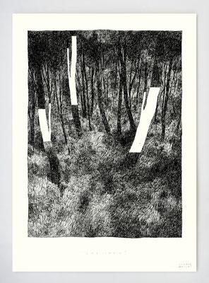 VENDU - SOLD /// SPECIMEN _ 21x29,7cm _ encre _ papier Ursus 300gr
