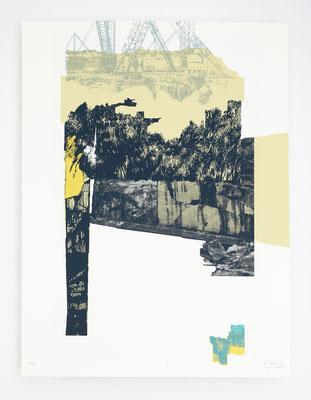 """""""Viçosa I"""" /  Sérigraphie 30x40cm / 4 couleurs / papier 300gr."""