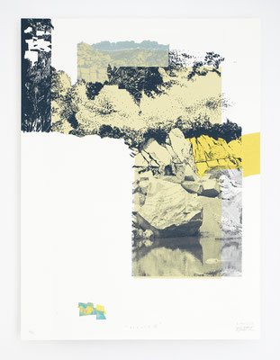 """""""Viçosa VI"""" /  Sérigraphie 30x40cm / 4 couleurs / papier 300gr."""