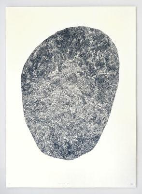 """VENDU - SOLD /// """"BERCAIL 02"""" / Sérigraphie 100x70cm"""