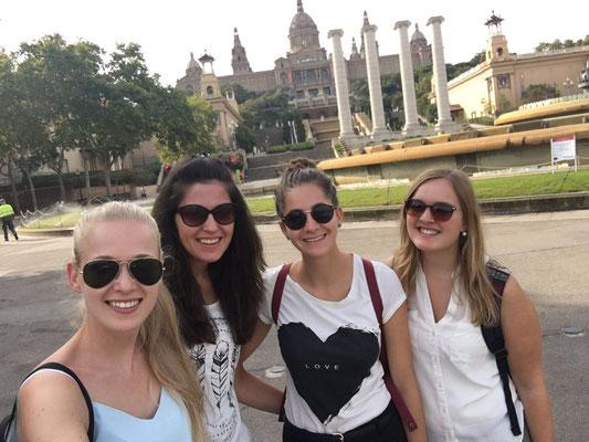 Meine drei besten Freundinnen haben mir zum Abschied eine Tagesreise nach Barcelona geschenkt. Sie sind eifach die Besten, vielen vielen Dank.