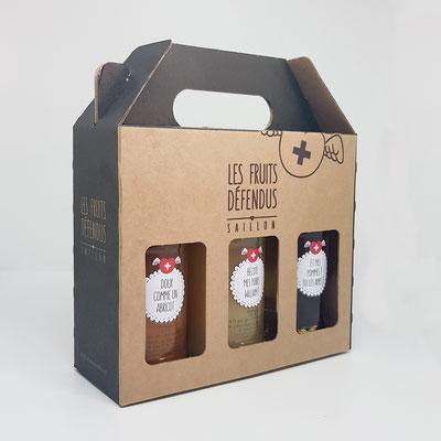 aline délayes les fruits défendus packaging création graphique Saillon valais martigny a2line