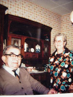 Meine Großeltern Maria und Peter Müller verstorben 1982 und 1990.