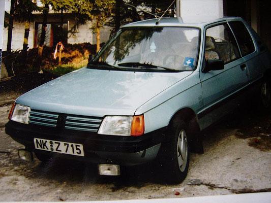 Mein erstes Auto von meinem Vater geschenkt