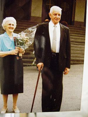 Meine Großeltern Elli und Paul Sawazki verstorben 1992 und 1993
