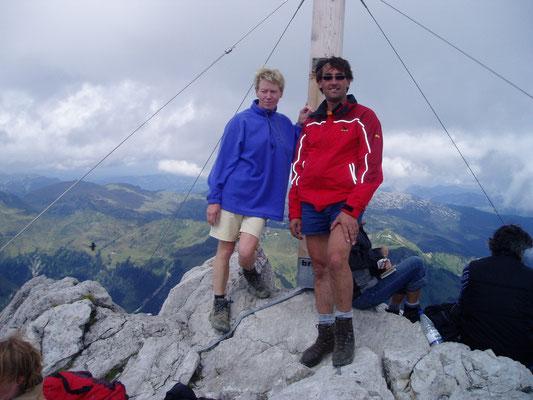 Jannette und Stefan am Widderstein