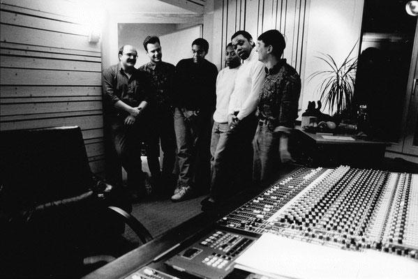 brian gilmour & his boys at gamma recording