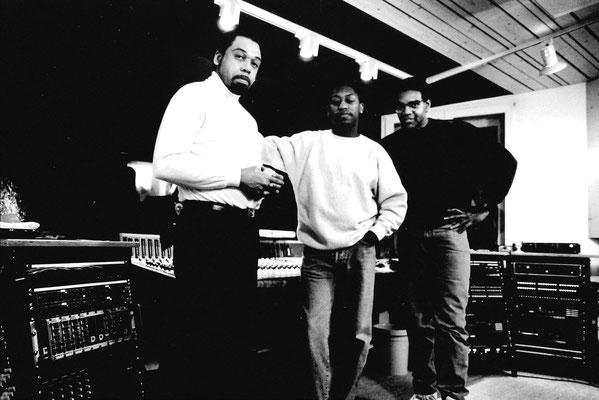 The Trio: Daryl Thomson, Daryll Jones & Gerry Brown!