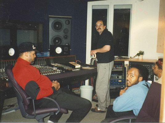 Gil Scott Heron crew mit Martin_Gamma Aarburg