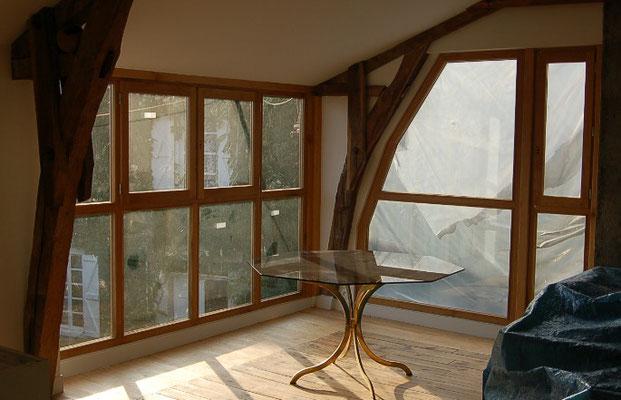baie vitrée.conception.réalisation.pose